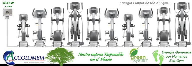 Sports Art Green System Eco Power - Eco Fit Accolombia