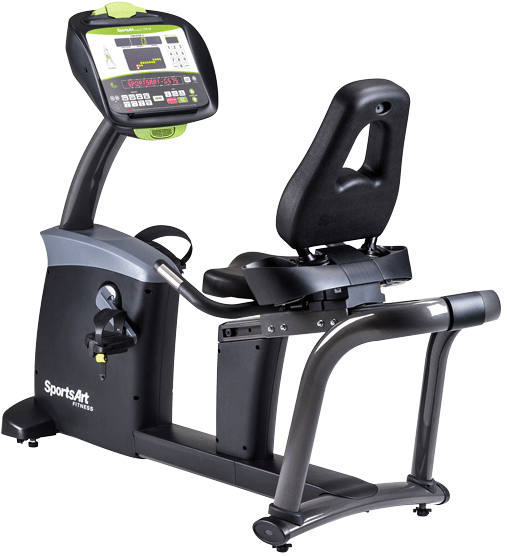 Recumbent G575R Sportsart Fitness Ecopower D-0363 Accolombia ima1