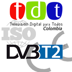 Certificado tdt decodificadores DBV-T2 accolombia