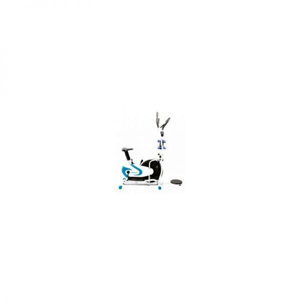Eliptica Multifucional de banda con Twister Azul