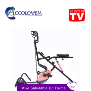 Total Crunch Bike Family 7 en 1 MOVIFIT accolombia color rosado ima1