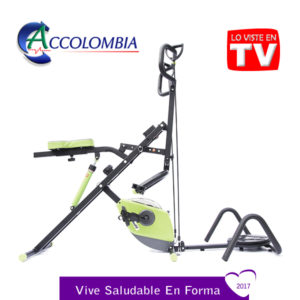 Total Crunch Bike Family accolombia color verde 2017